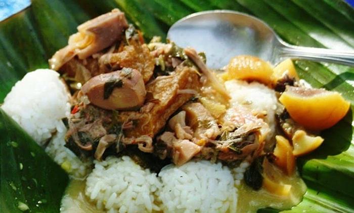 makanan khas kebumen nasi penggel